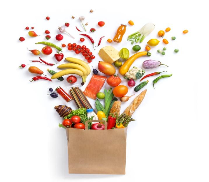 Handig zo'n groente en fruitkalender